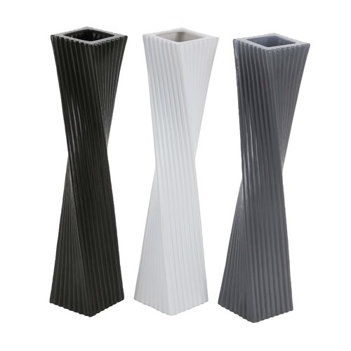 Cole & Grey Ceramic Floor Vase (Set of 3)