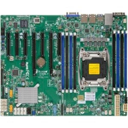 Supermicro X10SRL-F Server Motherboard - Intel C612 Chipset - Socket R3 (LGA2011-3) - Retail Pack MBD-X10SRL-F-O