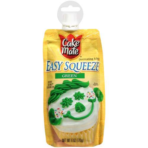 Cake Mate Green Easy Squeeze Decorating Icing, 6 oz