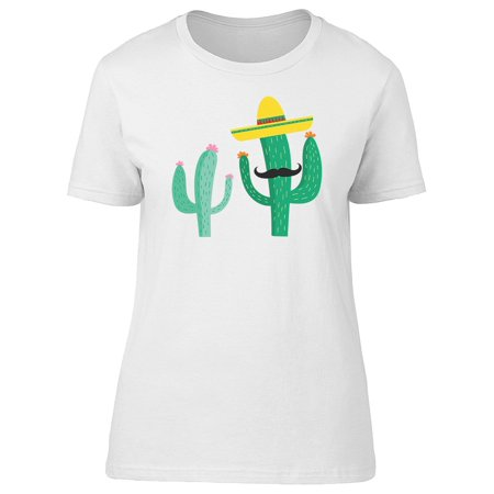 Cool Mexican Mariachi Cactus Tee Women's -Image by Shutterstock](Mariachi Clothing)