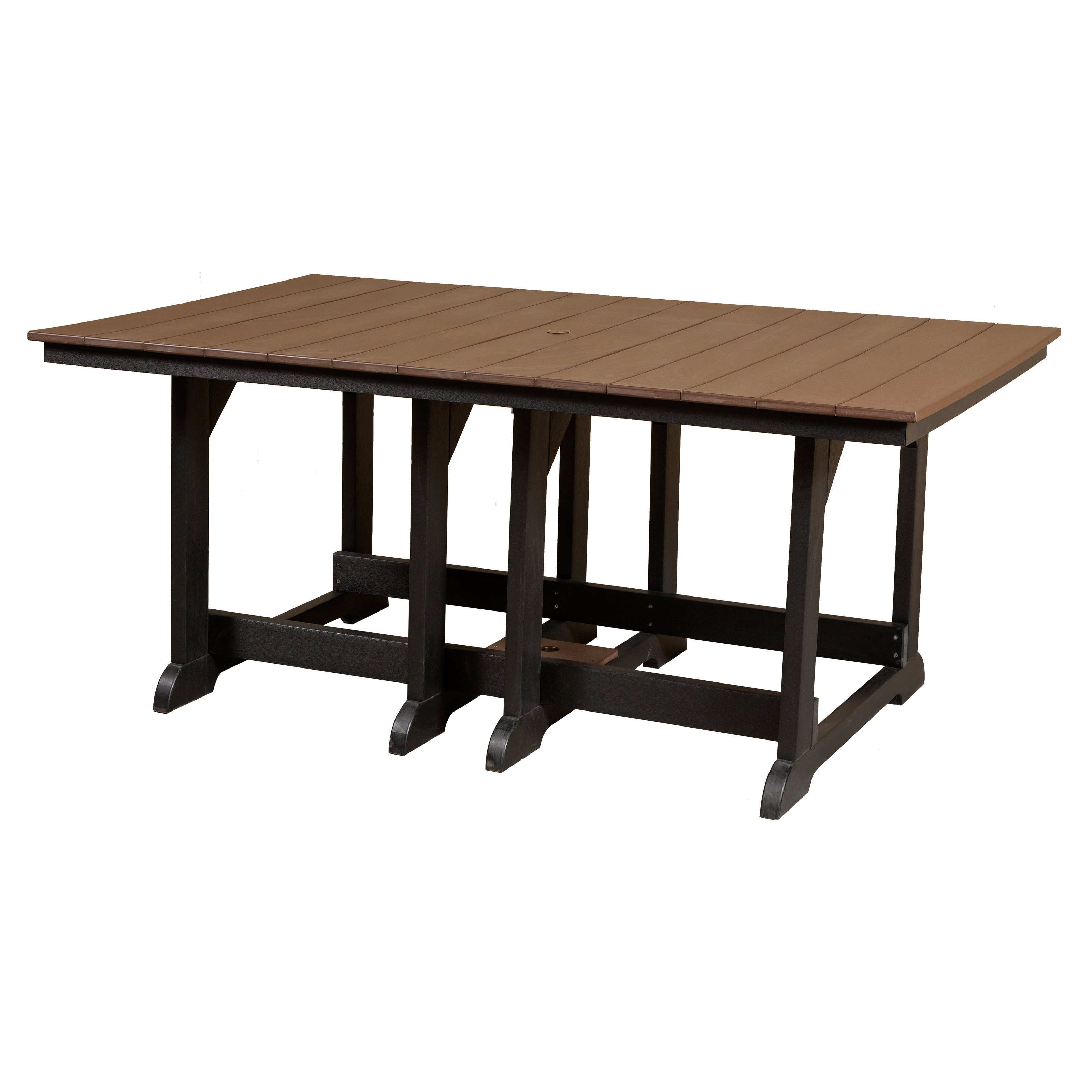 Little Cottage Heritage Recycled Plastic 72 in. Rectangular Patio Dining Table
