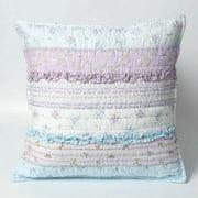 Cozy Line Romantic Chic Lace Lavender Decorative Pillow