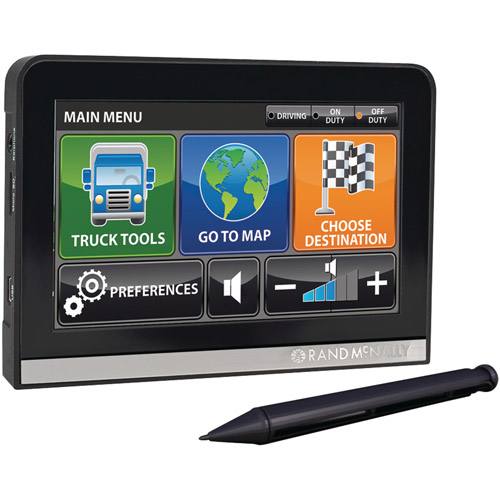"Rand McNally IntelliRoute TND 510 5"" Portable GPS with Free Lifetime Maps"