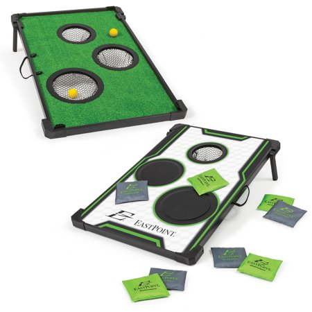 EastPoint Sports 2-in-1 Chip 'N Score Bean Bag Toss/Golf Game (Nes Sports Games)