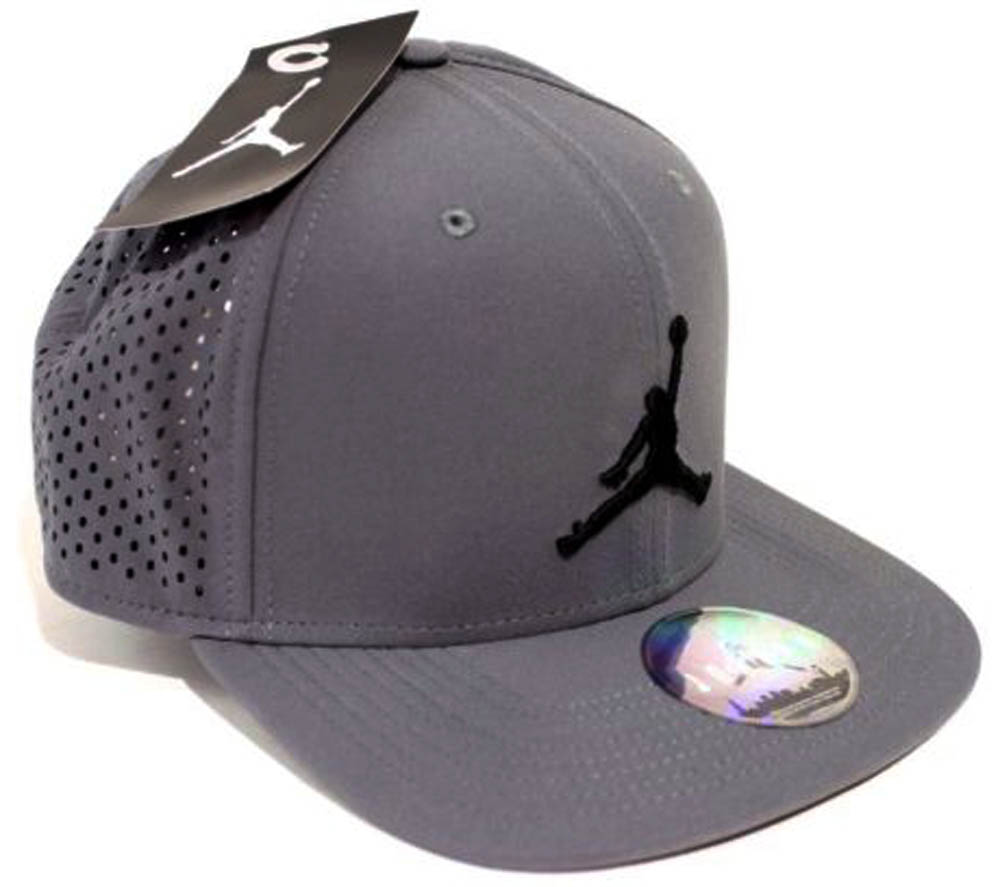 587d23b0923 ... usa nike jordan jumpman performance hat 642091 021 graphite black 5f237  748f0