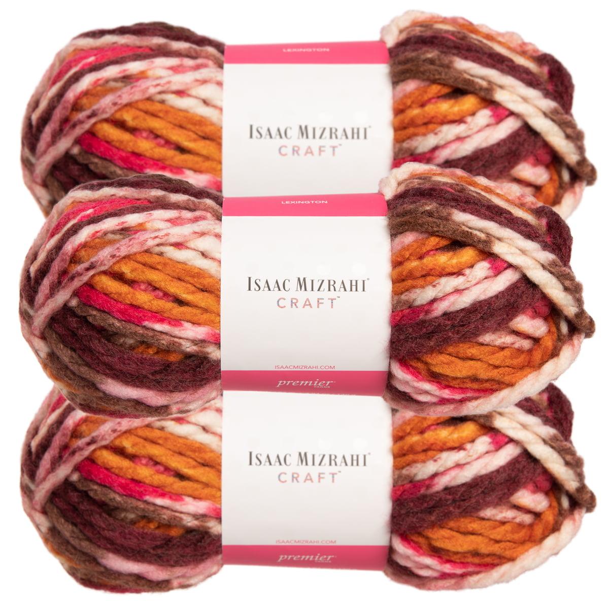 3 Pack Lion Brand Yarn Wool Ease Super Chunky Yarn for Knitting Crocheting Soft Yarn Bulky #6