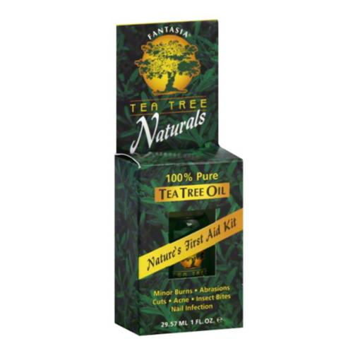 Fantasia Tea Tree Naturals 100% Pure Tea Tree Oil, 1 oz (Pack of 2)