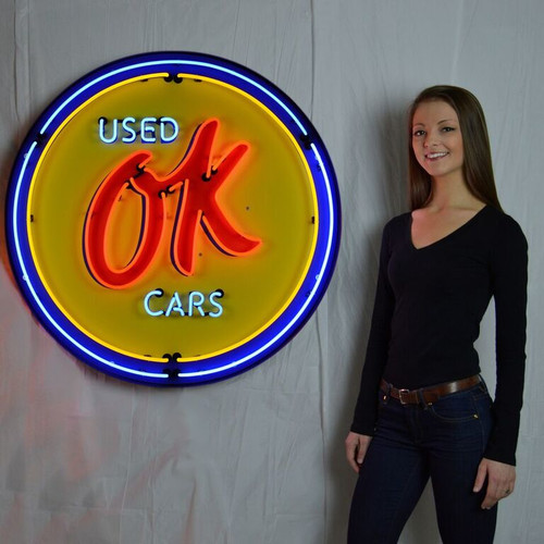 Neonetics GM Ok Used Cars Neon Sign