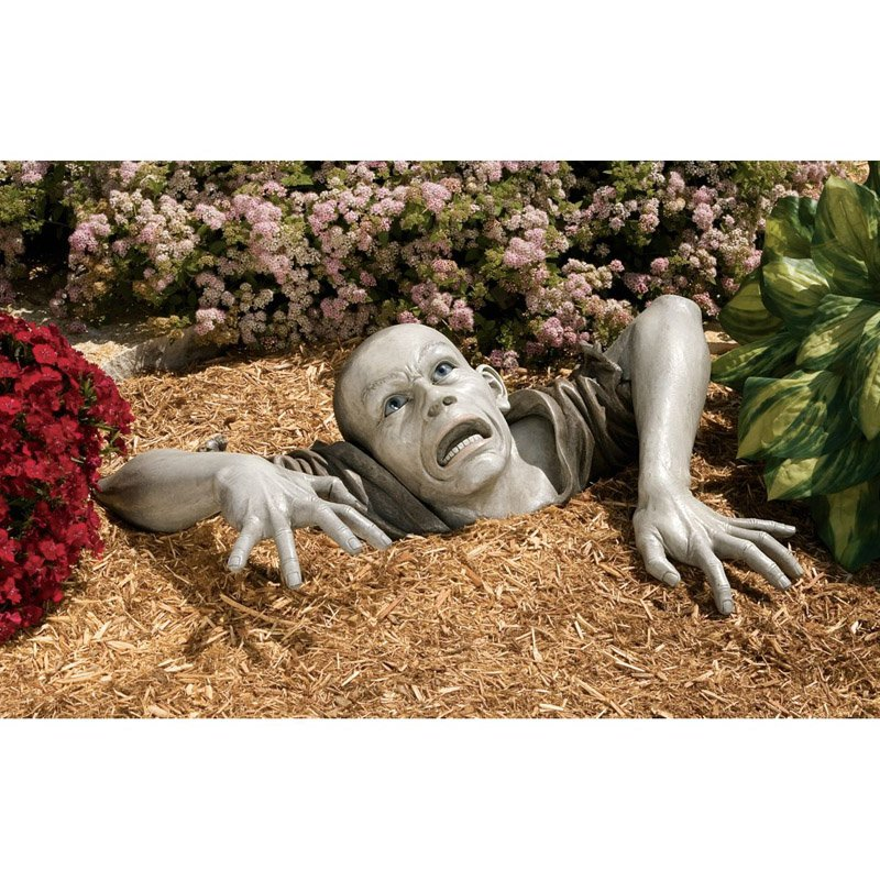 Design Toscano The Zombie of Montclaire Moors Garden Statue by Garden Statues