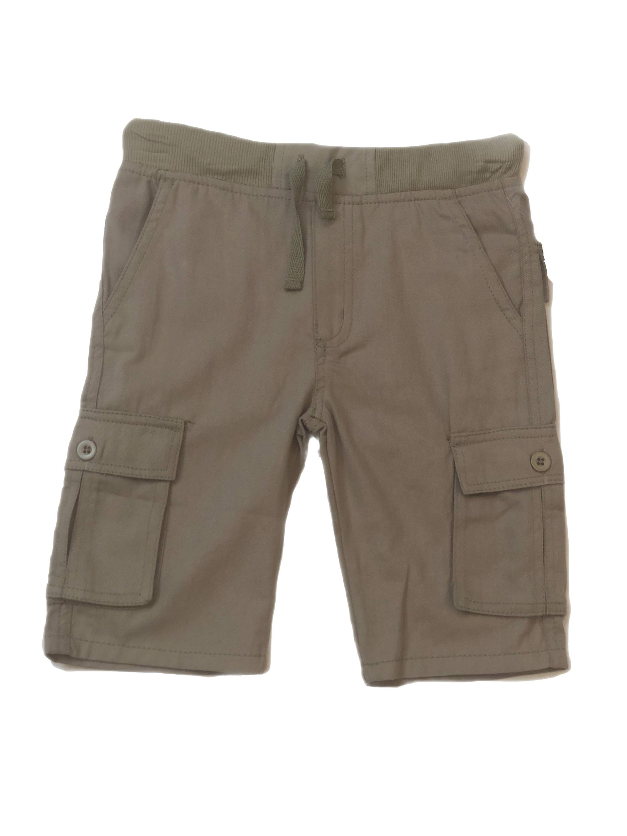 Boys' School Uniform Pull On Twill Cargo Short