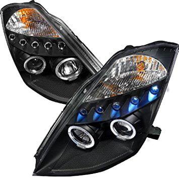 Spec D Tuning Nissan 350z 2003 2004 2005 Projector Headlights