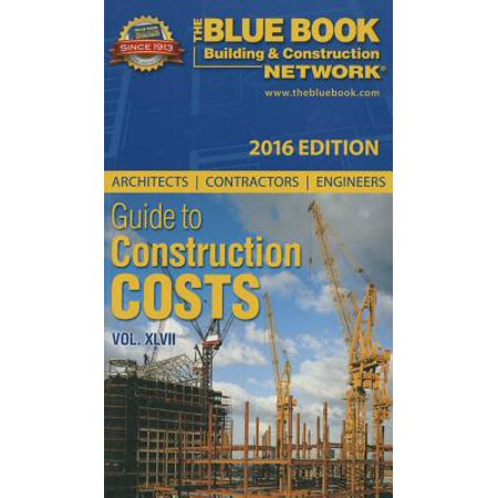 Construction Blue Book >> 2016 Blue Book Network Guide To Construction Costs