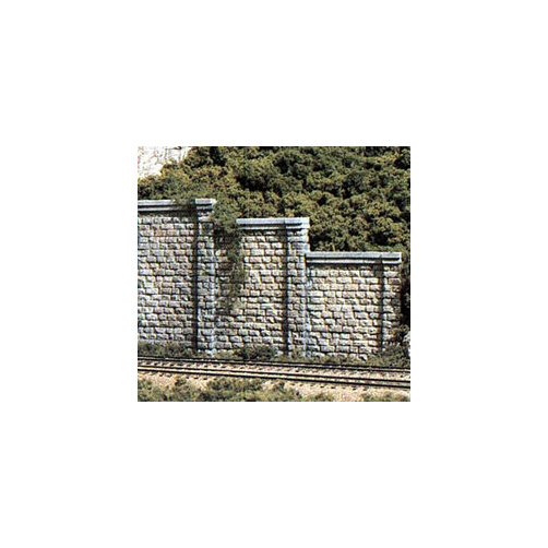 Woodland Scenics WS 1159 N Retaining Wall Cut Stone Multi-Colored
