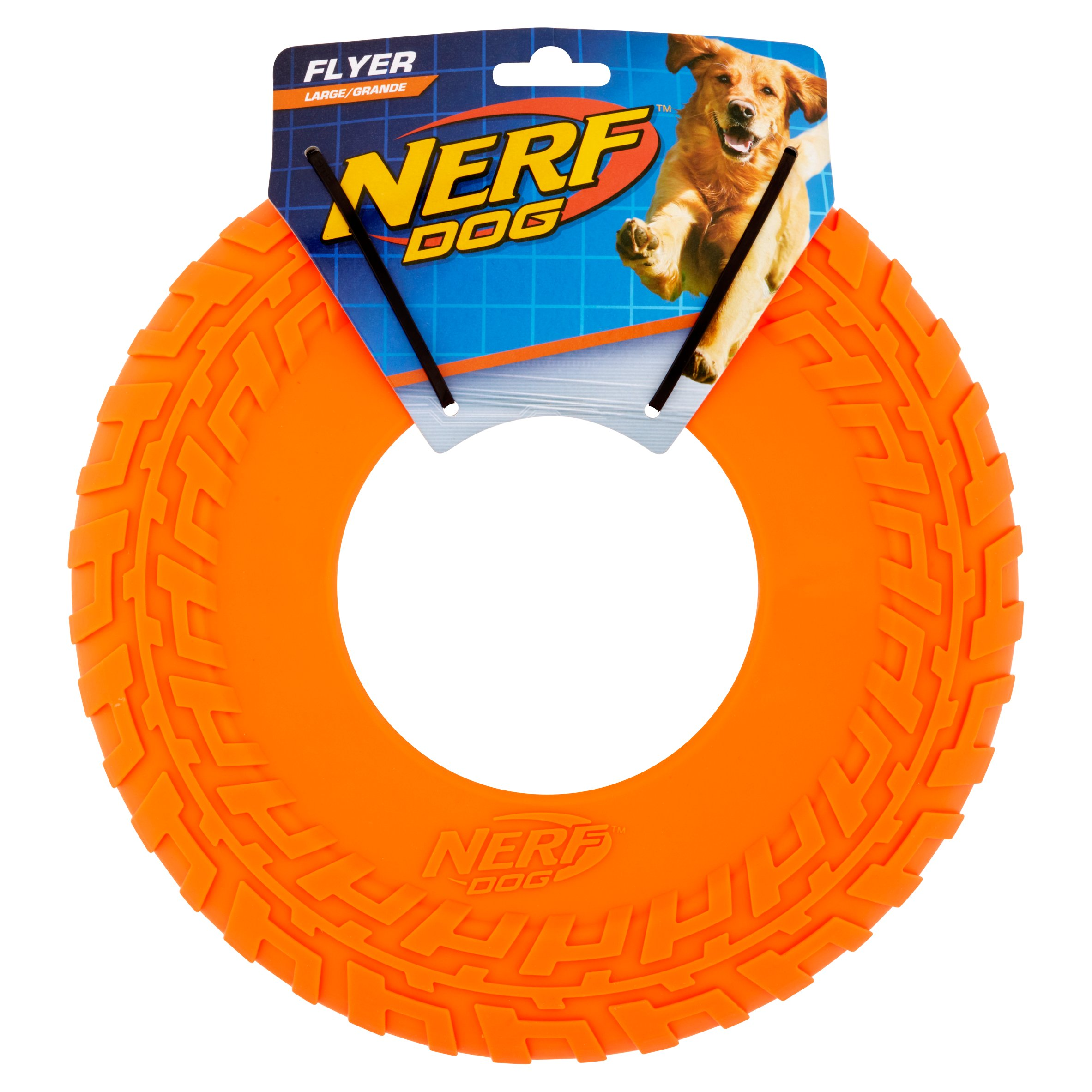 Nerf Large Flyer Dog Toy (color may vary)