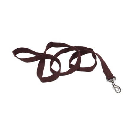 Sox Fiber - Coastal Pet Products New Earth 14906 CHC06 1 Inch Natural Fiber Soy Dog Leash, 6 feet, Chocolate
