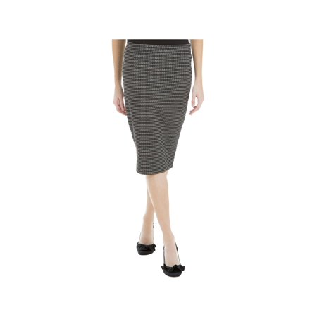Max Studio Womens Above Knee Knitted Pencil Skirt