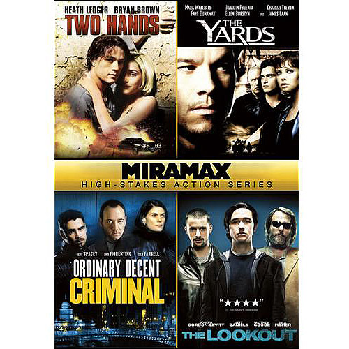 Miramax Classics: 4 Action Films - The Lookout / The Yards / Two Hands / Ordinary Decent Criminal