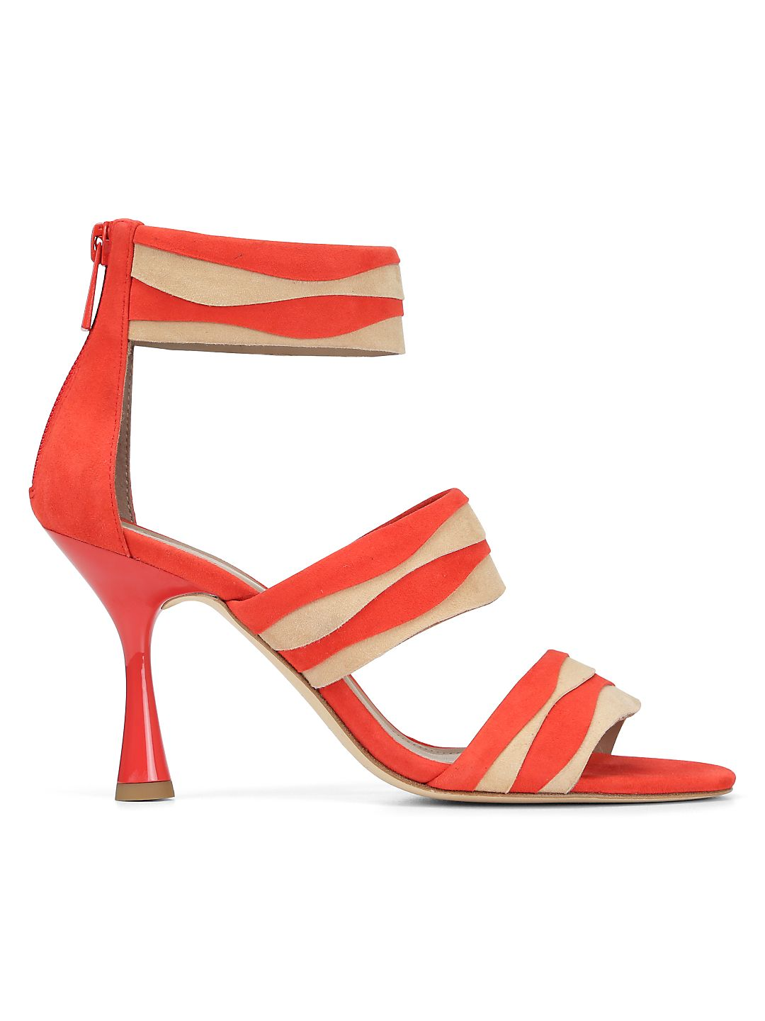 Neav Suede Ankle-Strap Sandals