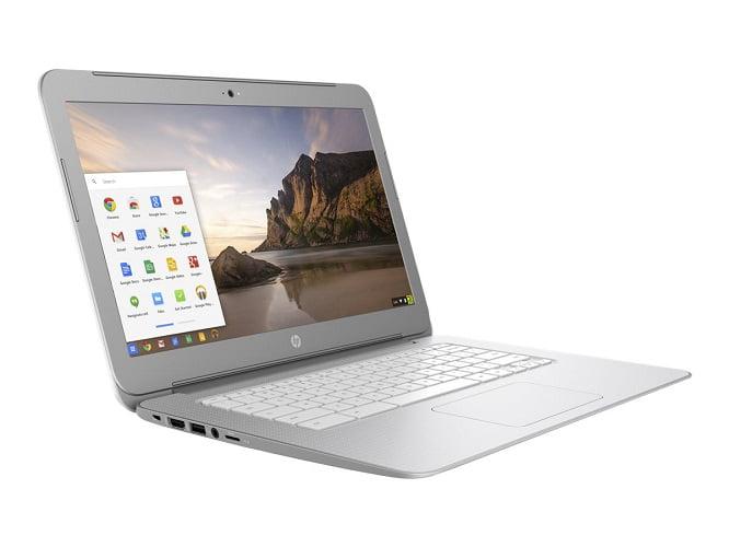 HP 14-ak039wm Chromebook 14 Intel Celeron 1.83GHz 4GB RAM 16GB eMMC White