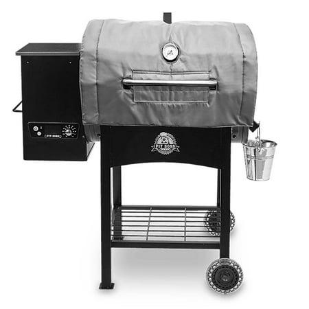 Pit Boss Insulated Blanket 800 Series Pellet Grills, Fiberglass Gray 67342