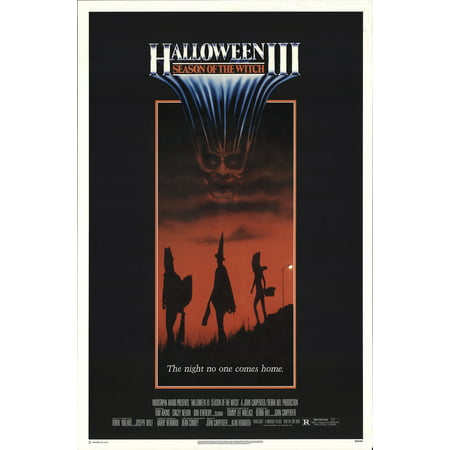 Halloween III: Season of the Witch (1982) Laminated Movie Poster Print 24 x 36 - Halloween 3 Movie Poster