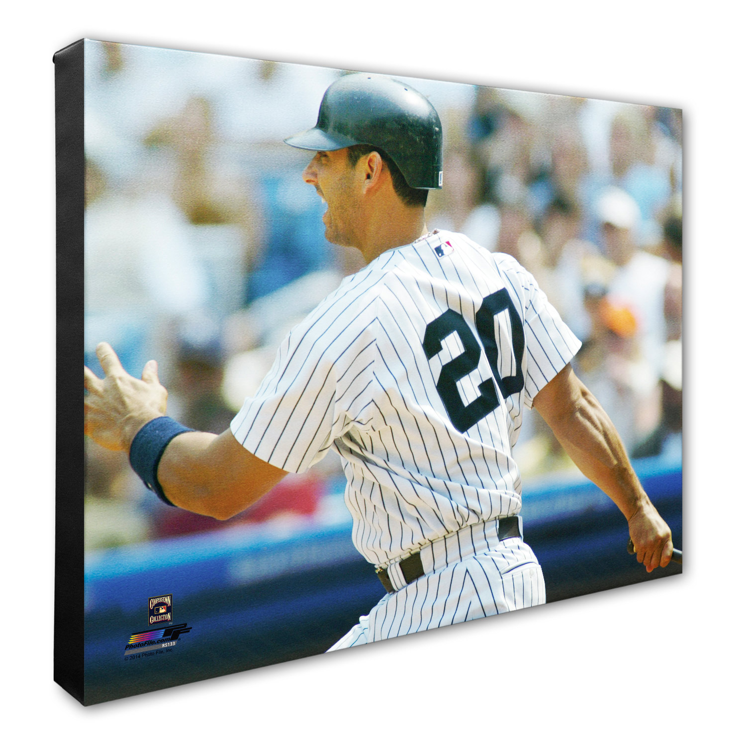 "New York Yankees Jorge Posada 16"" x 20"" Player Canvas - No Size"