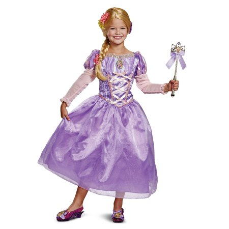 Tangled Rapunzel Deluxe Child Costume - Rapunzel Flynn Rider Halloween Costumes