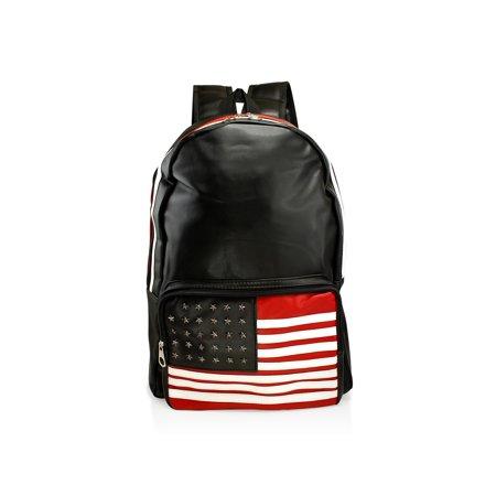 GEARONIC TM - Fashion American Flag Women Canvas School Bag Girl Cute Satchel Travel School Backpack Shoulder Rucksack - Walmart.com