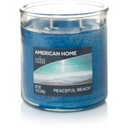 American Home by Yankee Candle Peaceful Beach, 12 oz Medium 2-Wick Tumbler