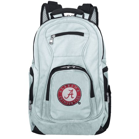NCAA Alabama Crimson Tide Gray Premium Laptop Backpack ()