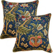 FHT Imperial Dress 17-inch Throw Pillows (Set of 2)