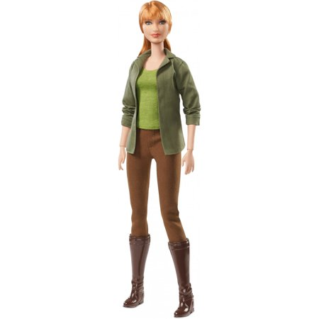 Barbie Jurassic World Claire Doll Wearing Movie-Inspired
