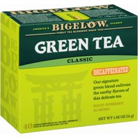 (4 Boxes) Bigelow Tea Decaf Green Tea, 40 Ct