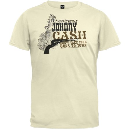 Johnny Cupcakes Halloween Shirts (Johnny Cash - Guns Cream Soft)