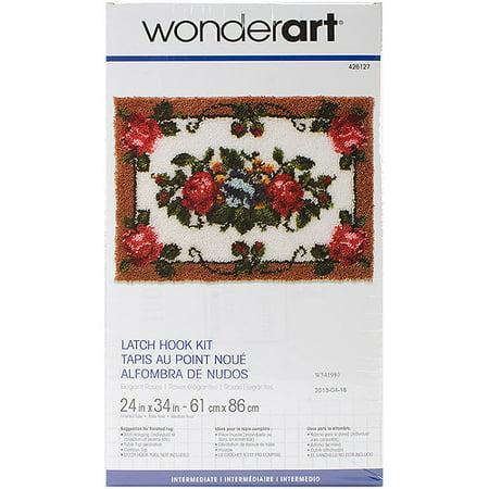 Wonderart Latch Hook Kit, 24