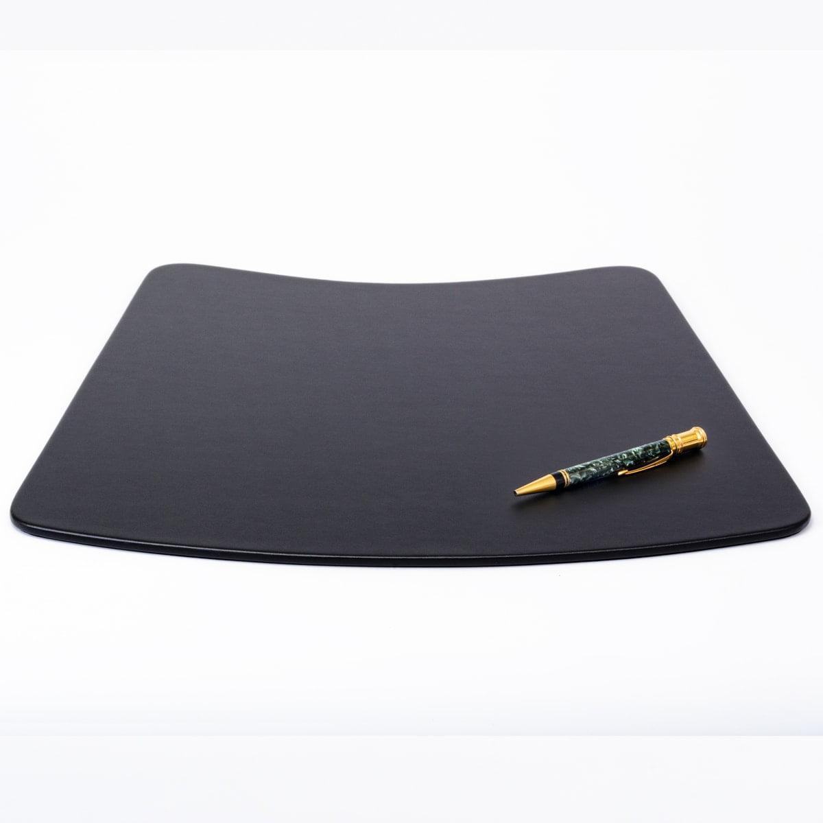 Black Leatherette Conference Pad For Round Table Walmart Com Walmart Com