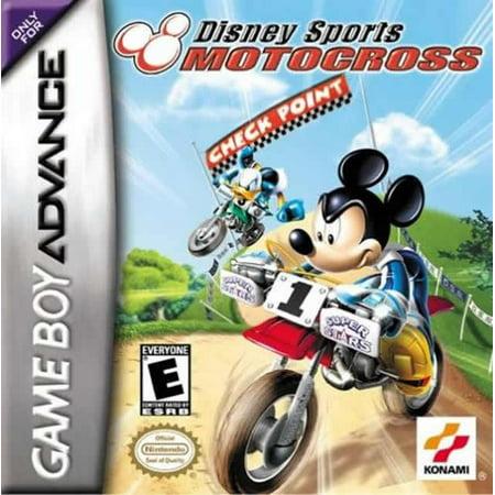 Disney Sports Motocross Check Point GBA