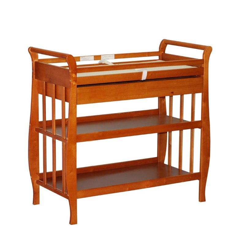AFG Baby Nadia Changing Table in Pecan