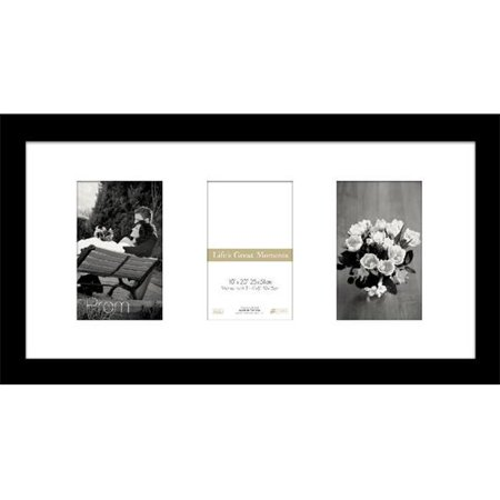 Timeless Frames 78309 Lifes Great Moments Black Wall Frame, 10 x 20 in.