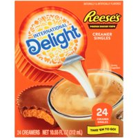 International Delight Reese's Peanut Butter Creamer Singles, 24 count