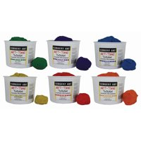Sargent Art® Art-Time Assorted Dough, Pack of 6