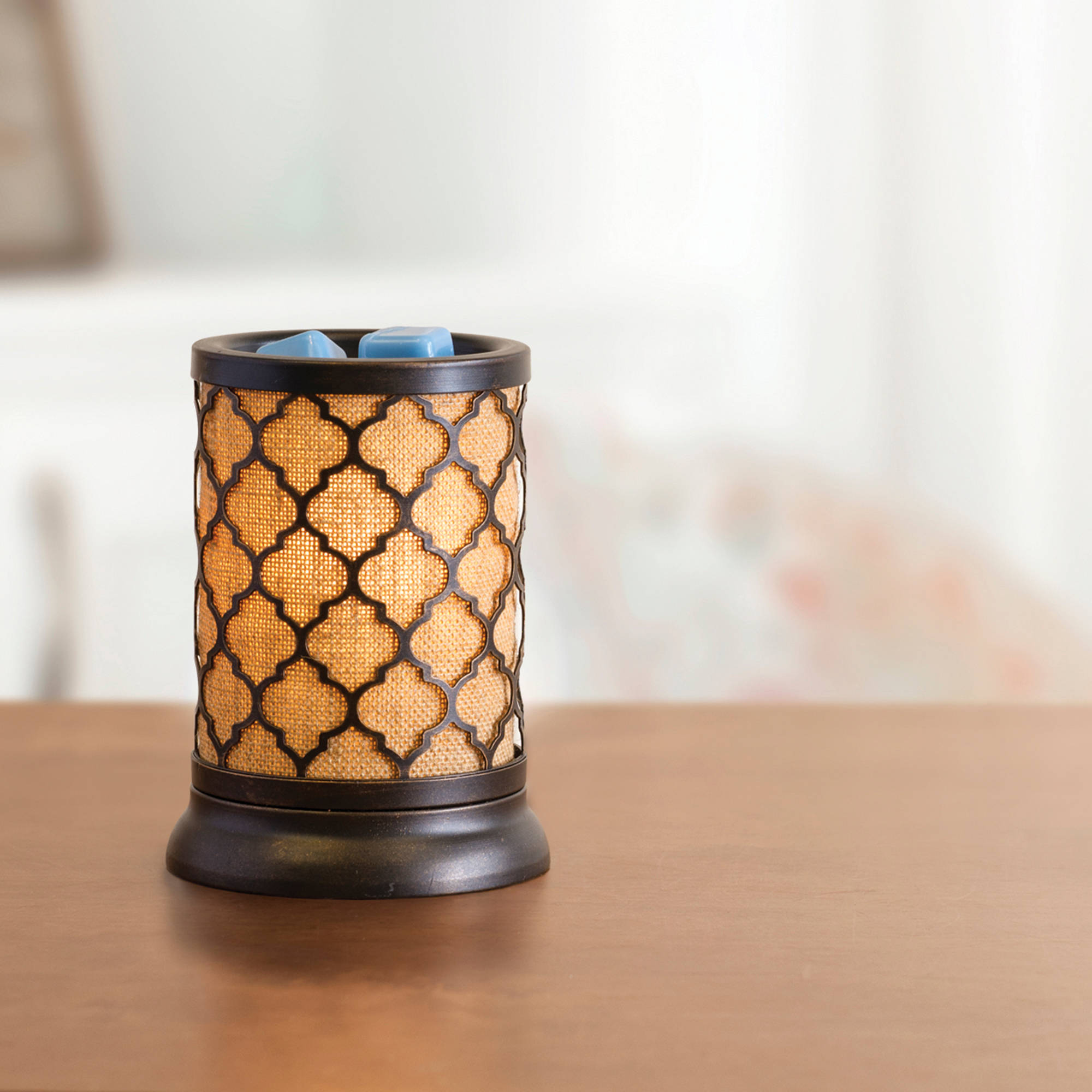 ScentSationals Full Size Wax Warmer Moroccan Burlap
