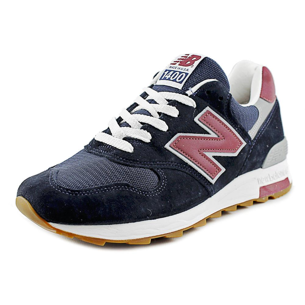New Balance M1400 Men Round Toe Synthetic Blue Sneakers by New Balance
