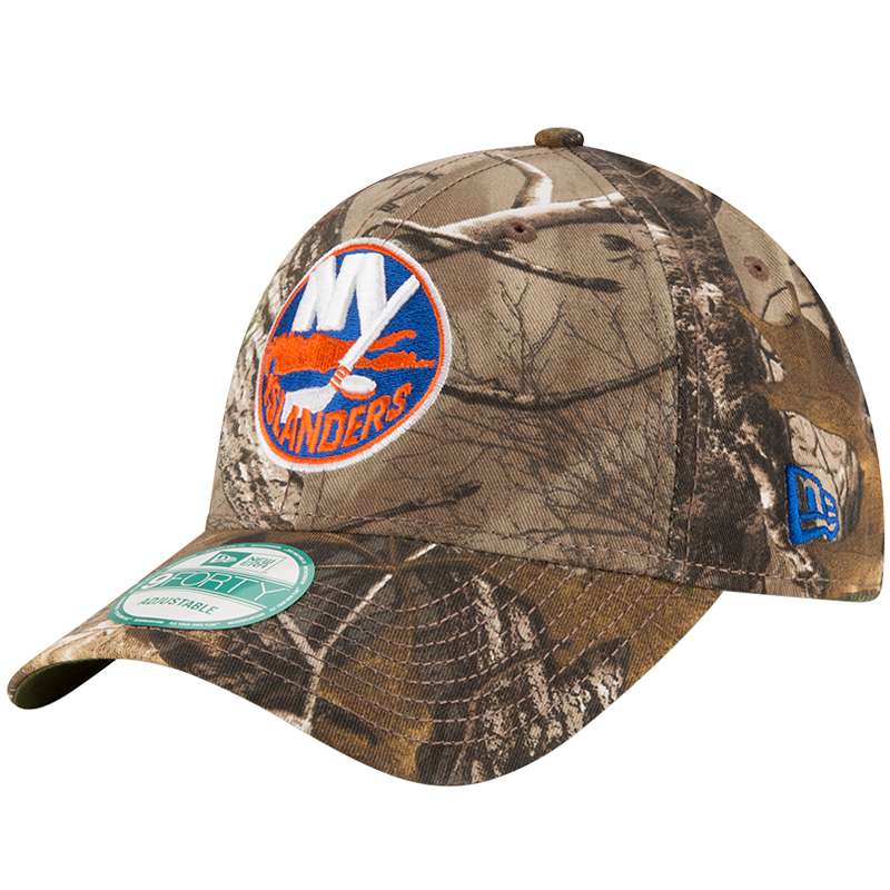 New York Islanders New Era The League 9FORTY Adjustable Hat - Realtree- Camo - OSFA