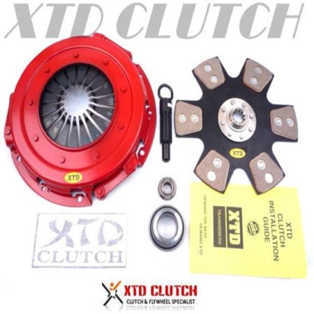 93 Mustang Lx Hatchback (XTD STAGE 4 CLUTCH KIT 86-01 FORD MUSTANG LX GT 93-98 COBRA SVT 4.6L)