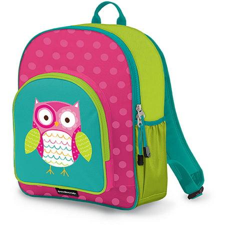 Crocodile Creek Eco Kids Owl Girls School Backpack, 14