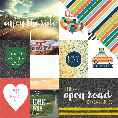 Discover Usa Double Sided Cardstock 12 X12  Usa Tags
