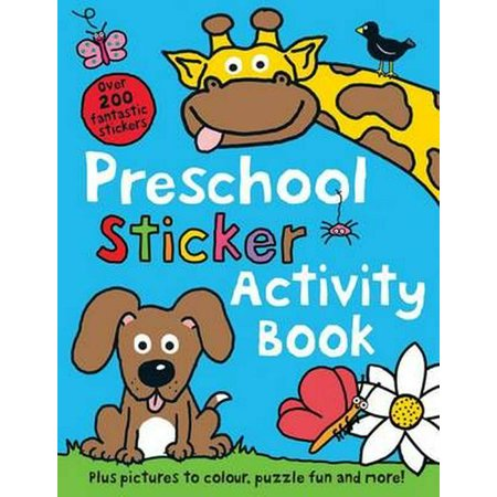 Preschool Sticker Activity Book (Sticker Book) (Paperback)