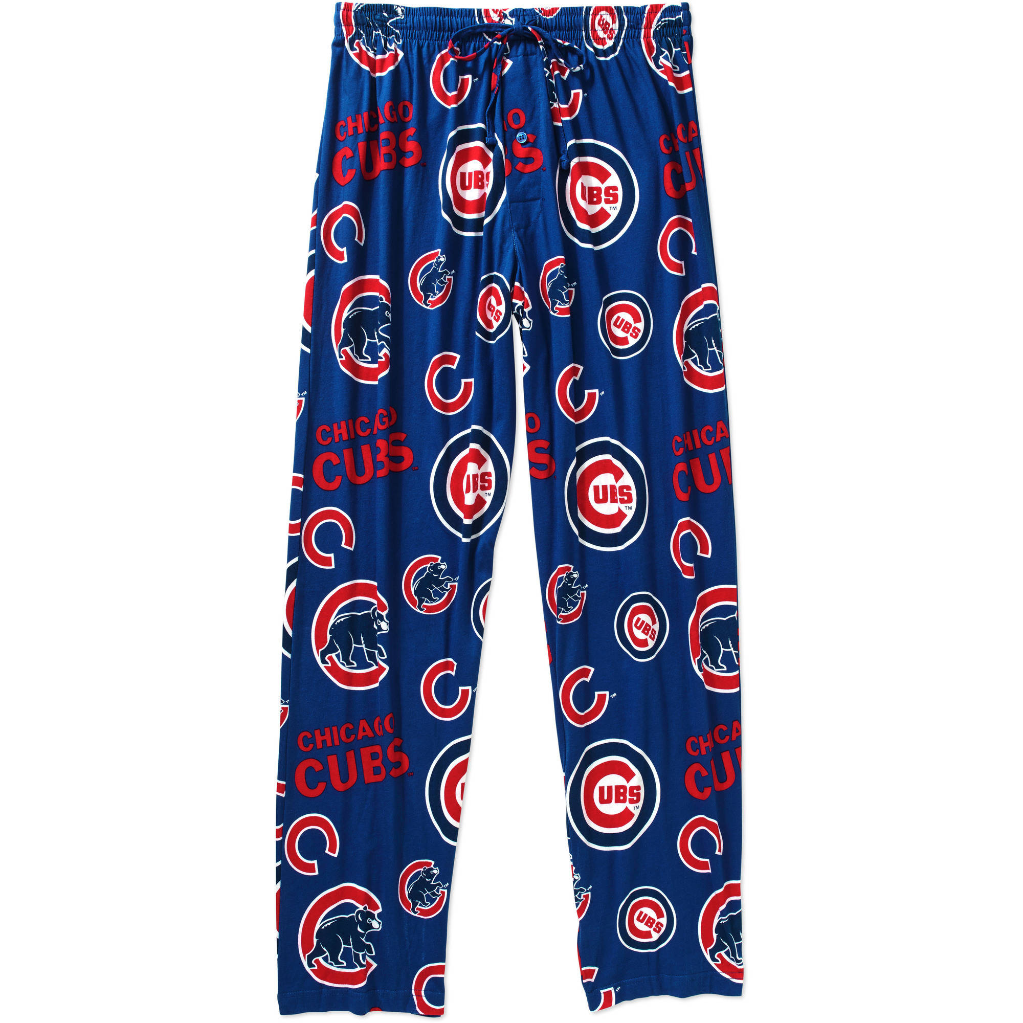 MLB Men's Chicago Cubs Knit Sleep Pants