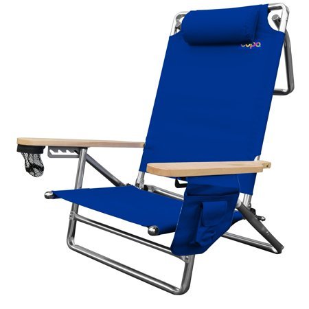 Miraculous E Com Solutions Inc Aluminum 5 Position Deluxe Lay Flat Chair With Dry Pouch Caraccident5 Cool Chair Designs And Ideas Caraccident5Info